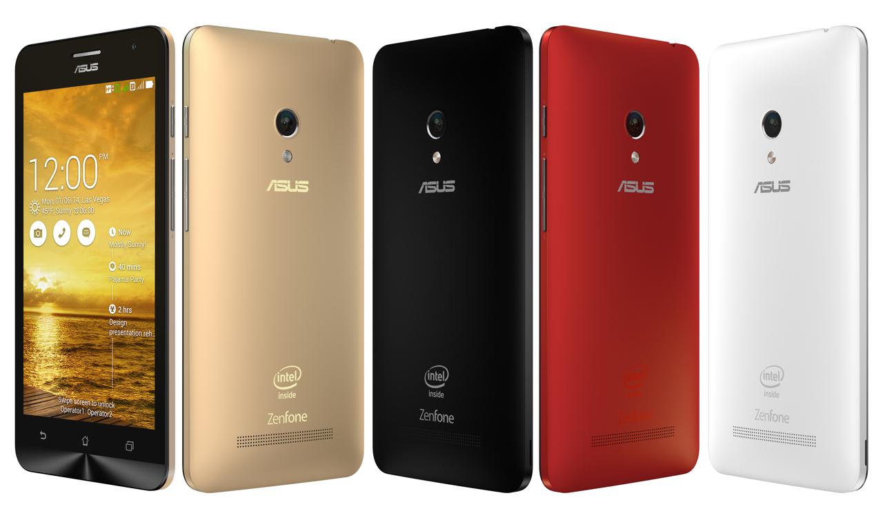 ZenFone5 Family gold