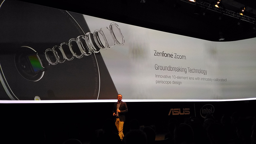 Zenfone Zoom evento