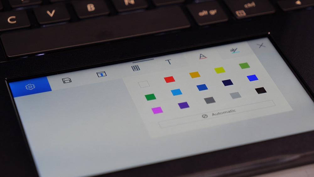 Screenpad do ASUS ZenBook Pro 14