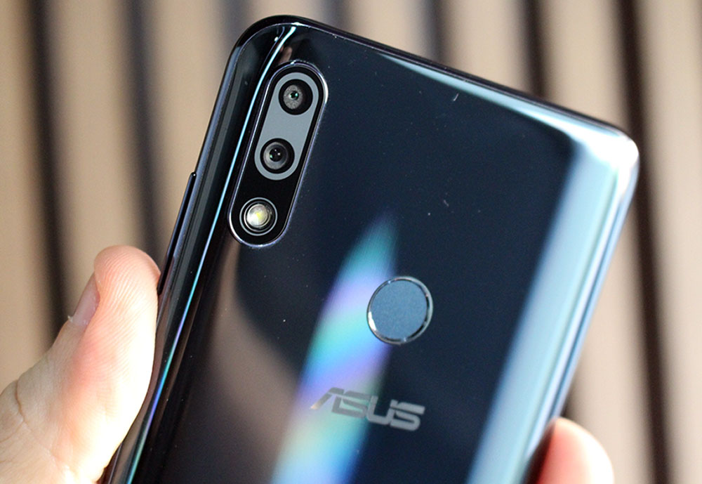 Câmeras traseiras do ZenFone Max Pro (M2)
