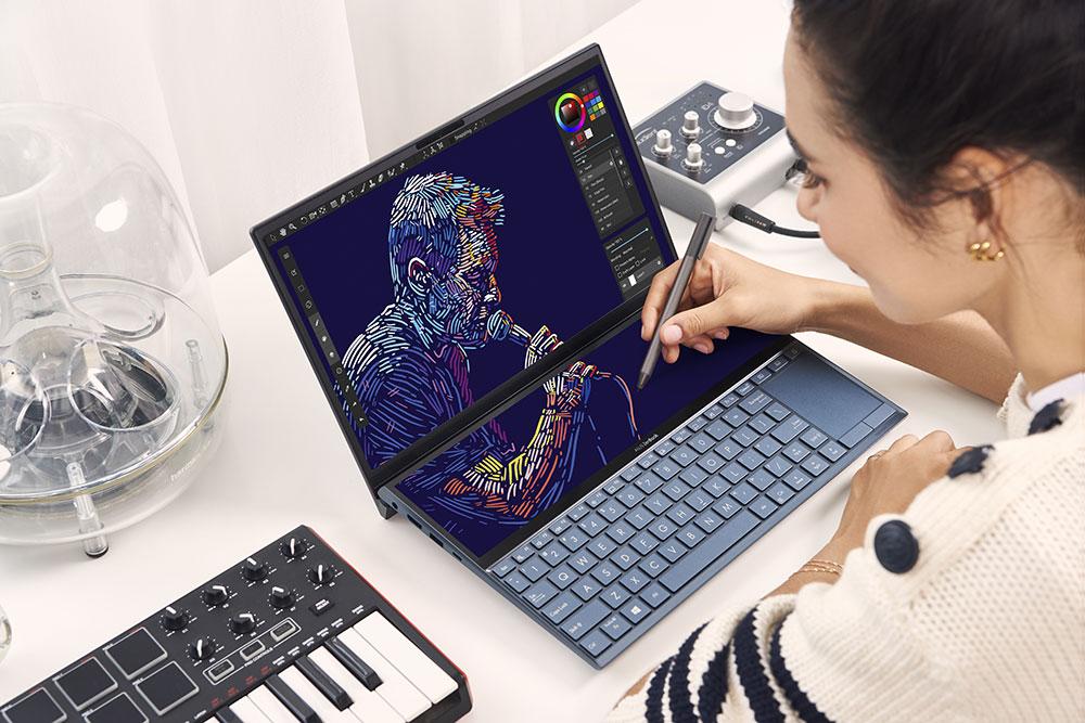 Novo ZenBook Duo apresentado na CES 2020