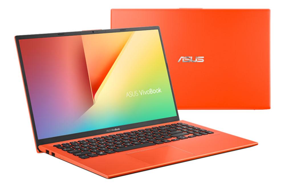 ASUS VivoBook X512FA na cor coral