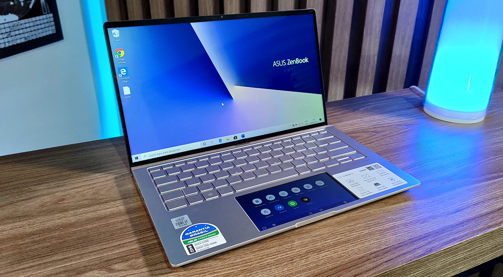 ZenBook 14 UX434 aberto