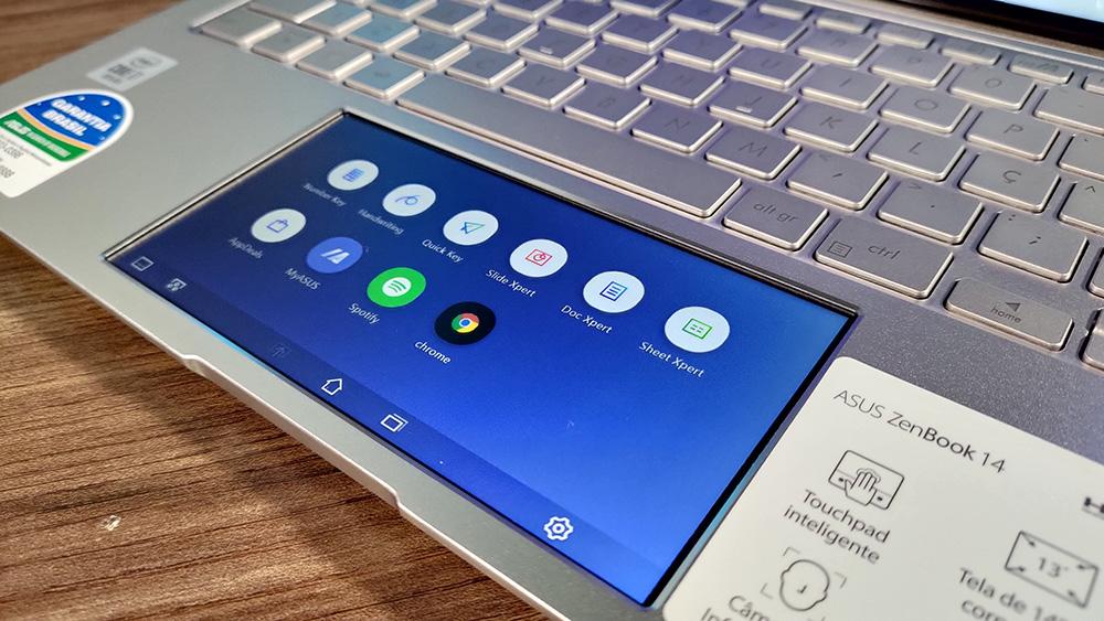 ScreenPad do ZenBook 14 UX434