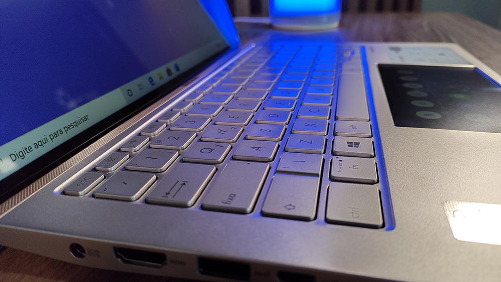 Teclado do ZenBook 14 UX434