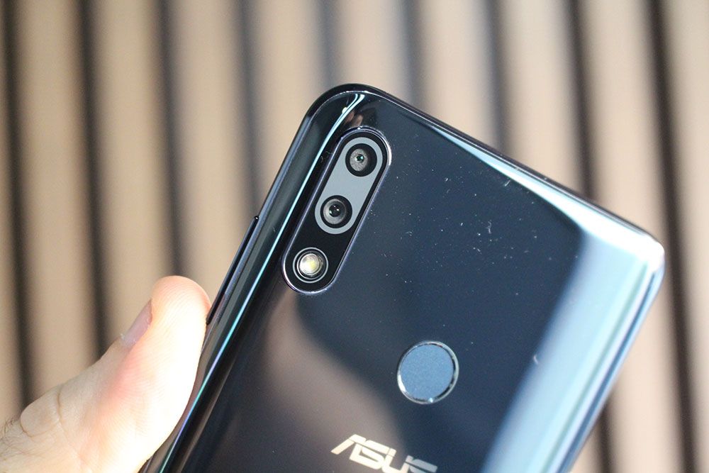Câmera do ZenFone Max Pro M2