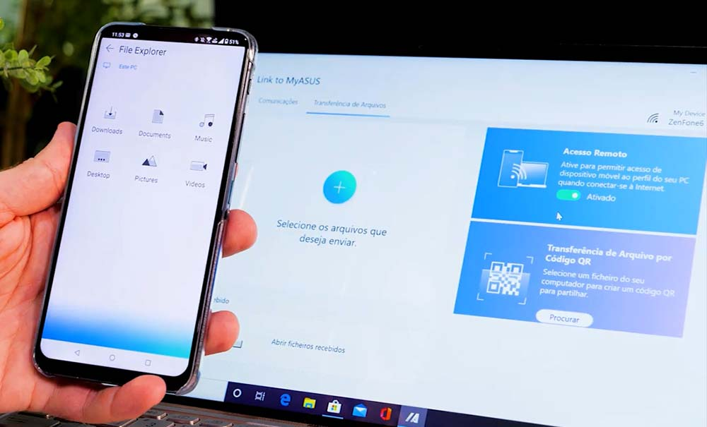 Link to MyASUS permite conectar smartphone ao notebook ASUS
