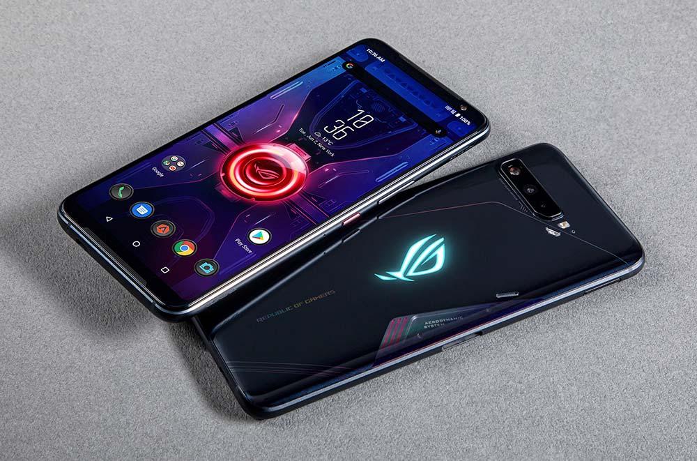 Tela e traseira do ROG Phone 3