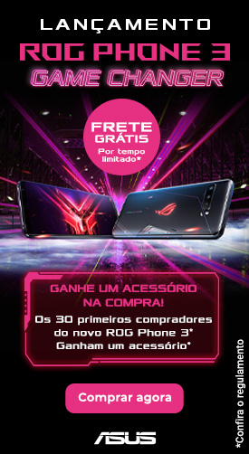 Smartphone Gamer ASUS ROG Phone 3 - O mais poderoso do mundo