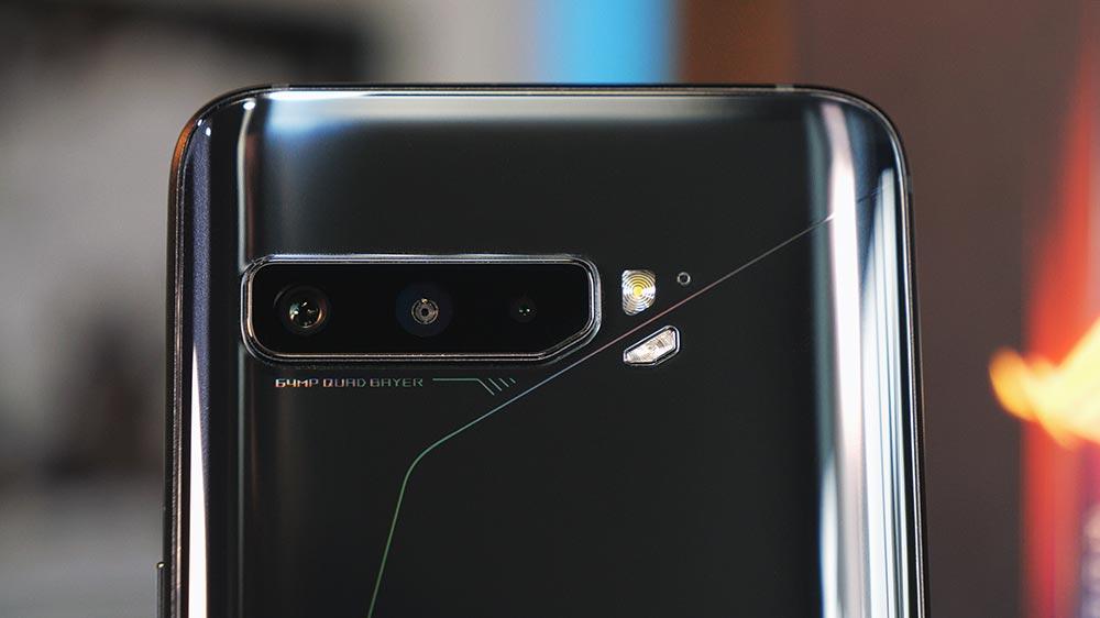 Sistema de câmera tripla do ROG Phone 3