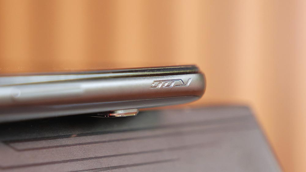Detalhe do AirTrigger do ROG Phone 3