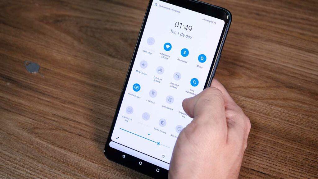 Hands-on ZenFone 7: Interface do sistema