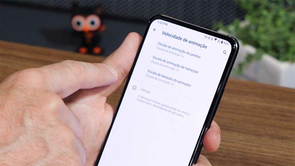 Imagem mostrando como personalizar o ZenFone